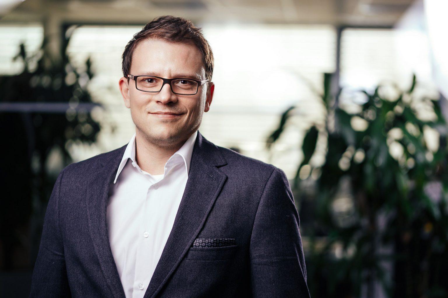 Portrait eines Geschäftsführers in Graz, Steiermark